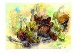 Stillleben mit Pilzen