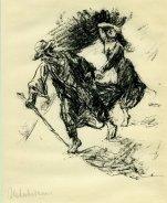 Der Rabbi und Sara auf der Flucht I