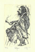 Cello-Spieler / Neothenie I