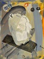 Karl Marx, 40x30cm