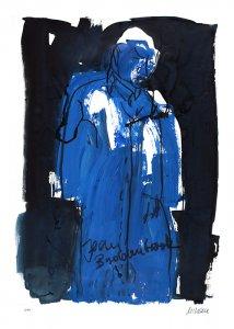 Selbst als Jean BuddenbrookGiclee 70 x 50 cm Blatt
