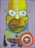 Wir alle sind Simpson II, 40x30cm