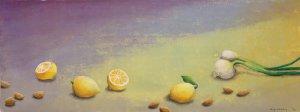 Zitronen 37 x 99 cm