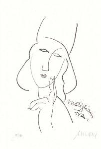 Modigliani Frau