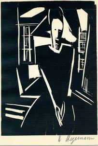 Stegemann, Heinrich Frau am Fenster Bruhns 88