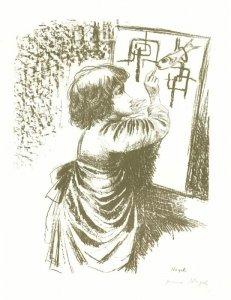 Zeichnendes Kind II